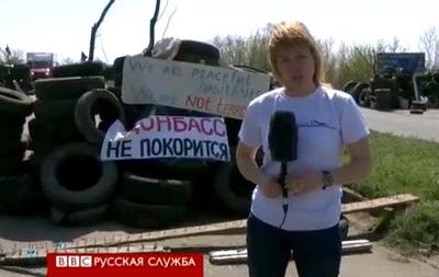 На подступах к Славянску: тихо, но напряженно - BBC