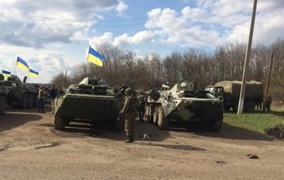 Под Краматорском погиб украинский военный - Минобороны