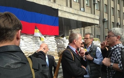 Команда миссии ОБСЕ попала в Славянск