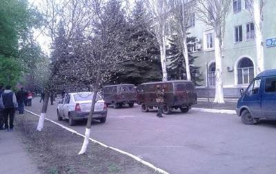 В Краматорске захвачено отделение милиции