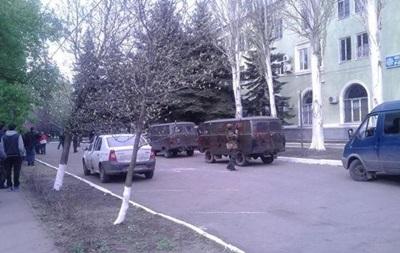 В МВД рассказали о захвате отдела милиции в Краматорске