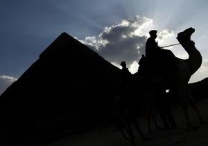 Из-за беспорядков в Каире Египет отменил экскурсии к пирамидам