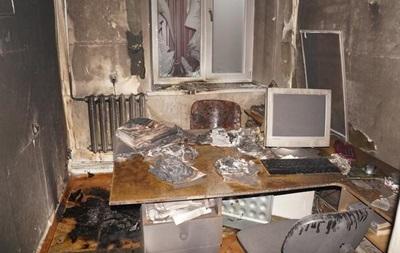 В Донецкой области за критику  республики  сожгли редакцию газеты