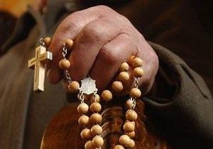 Незрячий украинский священник отправился пешком в Иерусалим