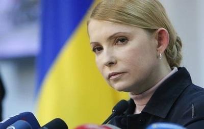 Тимошенко проведет переговоры с захватчиками здания СБУ в Луганске