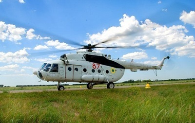 Невідомі обстріляли два бойових вертольоти Нацгвардії біля Слов янська