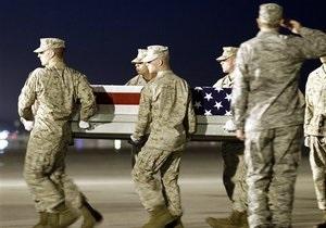 Потери США и НАТО в Афганистане в 2010 году достигли 500 человек