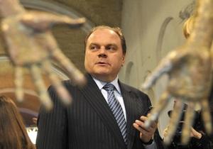 Янукович уволил Кулиняка с поста министра культуры