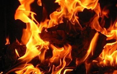 В Краматорске за ночь сгорело семь микроавтобусов