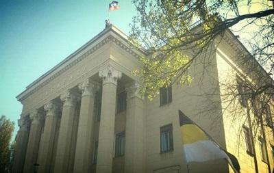 В Донецке захватили здание областного телецентра