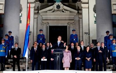 В Сербии избрали новое правительство