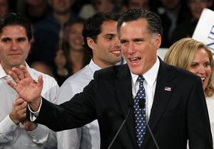 Ромни победил на праймериз во Флориде