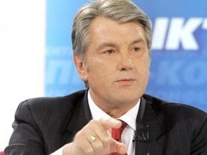 Ющенко напомнил Литвину, что Раде нужно заслушать отчет Кабмина