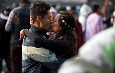 В Одессе пройдет марафон поцелуев