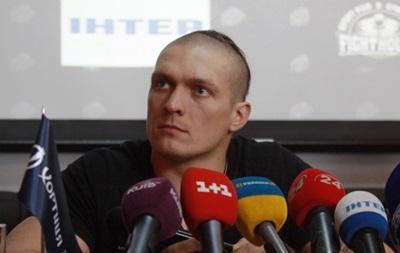 Усик: Выходить в ринг против Кличко мне еще рано