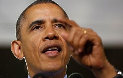 Рейтинг Обамы снизился из-за событий в Украине - опрос