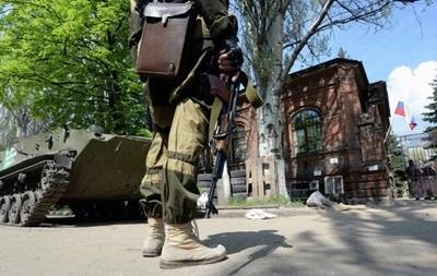 В Донецке разоружили пятерых бойцов спецподразделения Сокол