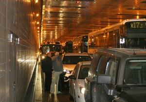 Строительство первого тоннеля под Днепром планируют начать в 2012 году
