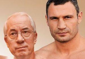 Азаров о Кличко: Какой из него государственный деятель?
