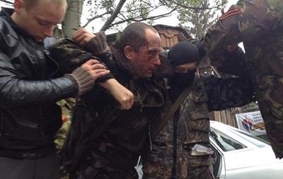 У лікарню Слов янська доставлений пілот збитого українського вертольота