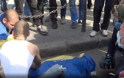 В Одессе на углу Преображенской и Дерибасовской произошло столкновение