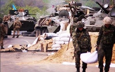 В Славянске погибло еще двое военнослужащих