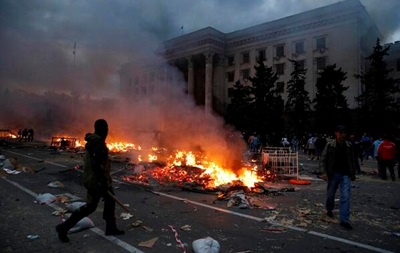 В результате пожара в доме профсоюзов Одессы погиб 31 человек – уточненные данные МВД
