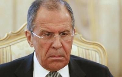 Лавров призывает ОБСЕ повлиять на Киев с целью отмены АТО
