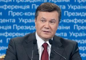 Янукович отменил все парады на День Независимости