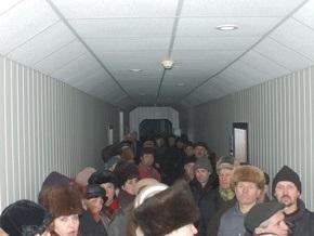 Рабочие Херсонского машзавода удерживают его под своим контролем и призывают к митингу