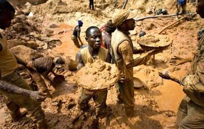 В Демократической республике Конго открыли одну из крупнейших золотодобывающих шахт Африки