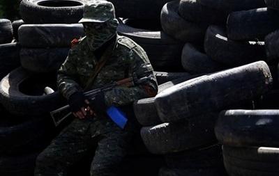 Военные устранили баррикаду ополченцев между Краматорском и Дружковкой