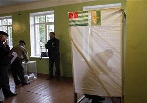 ЦИК Абхазии признал выборы президента состоявшимися