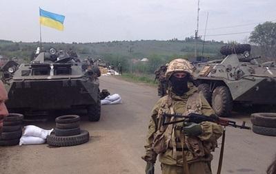 Возле Славянска погибли четверо украинских солдат, около 30 ранены – МВД