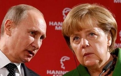 Меркель и Путин обсудили президентские выборы в Украине