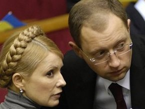 Яценюк высказался против отставки Тимошенко