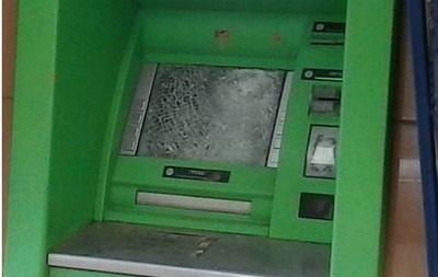В Краматорске расстреляли банкоматы ПриватБанка