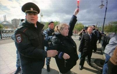 Акция в поддержку политзаключенных в Москве: задержаны 12 активистов