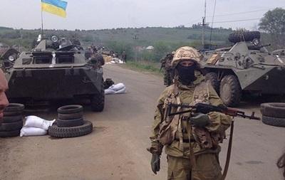 В боях возле Славянска погибли четверо украинских военных – соцсети