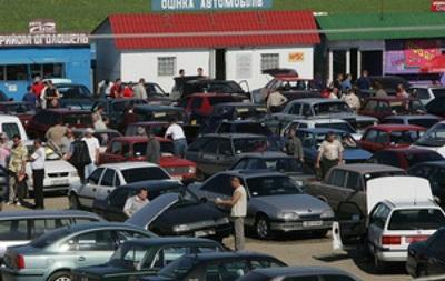 За четыре месяца количество регистраций подержанных авто уменьшилось до 5,5 тысяч