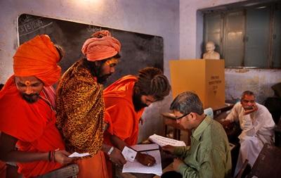В Индии подведут итоги парламентских выборов