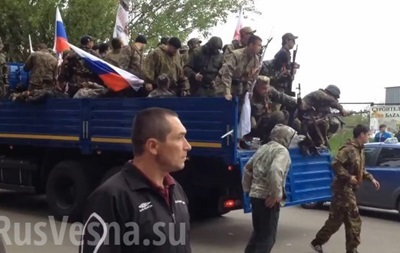В Свердловске захватили одно из предприятий под штаб  самообороны  - милиция