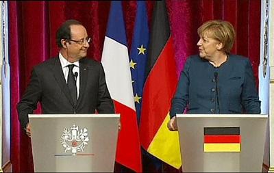Германия и Франция введут санкции против России в случае срыва выборов в Украине