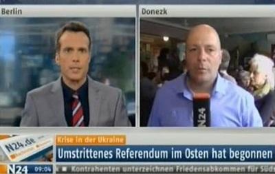 Явка избирателей в Донецке удивила немецкого журналиста