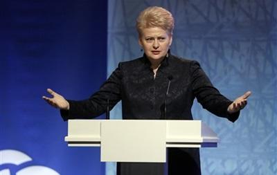 Действующий президент Литвы лидирует на выборах