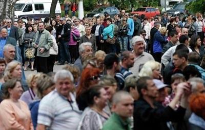 Явка на референдуме в Луганской области составила 81%
