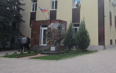 Здание ГСЧС в Донецке заняли вооруженные люди – СМИ