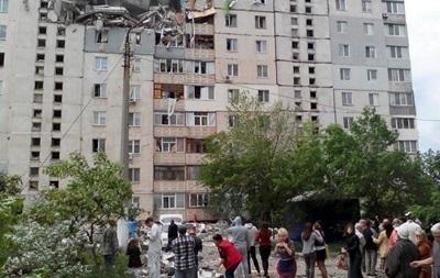 МВД обнародовало видео последствий взрыва дома в Николаева