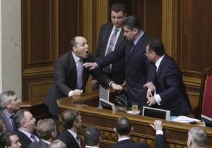 Би-би-си: депутаты Рады подрались из-за закона о языке