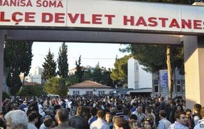 Турция: протестующие  шахтерского городка забросали камнями авто премьера